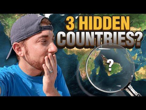 3 HIDDEN COUNTRIES (You've Never Heard Of!)