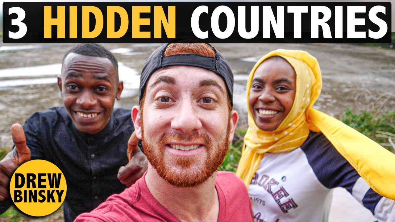 3 HIDDEN COUNTRIES (You've Never Heard Of!)