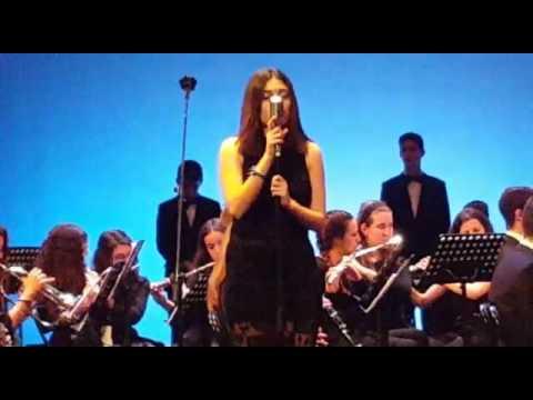 Hallelujah de Cohen. Veronica Molins y la Banda Mpal. de Música de Lepe
