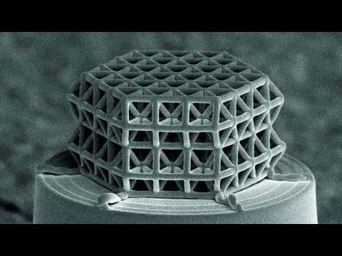 .科學家 3D 列印微型晶格結構,承載能力接近理論值