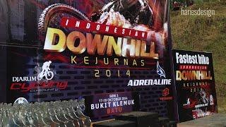 Indonesian DOWNHILL Kejurnas 2014 Klemuk Batu Malang