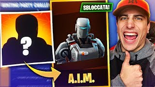 "I UNLOCKED the ""NEW"" SKIN LEGEND!! A.I.M. - Fortnite Battle Royale ITA!"