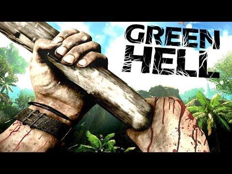 GREEN HELL | OLDUKÇA GERÇEKÇİ SURVIVAL | BÖLÜM 1