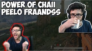 MOST INTENSE PUBG GAME | 2 CHICKEN DINNER IN ROW | Chai Power | Carrmyinati Highlights