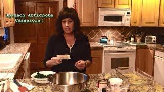 Spinach Artichoke Casserole - My #1 Favorite Thanksgiving Side!