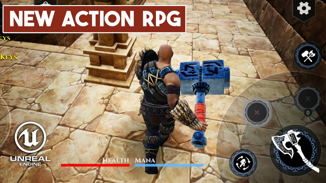 ULTIMATE VIKING Gameplay Android - Action RPG On Unreal Engine