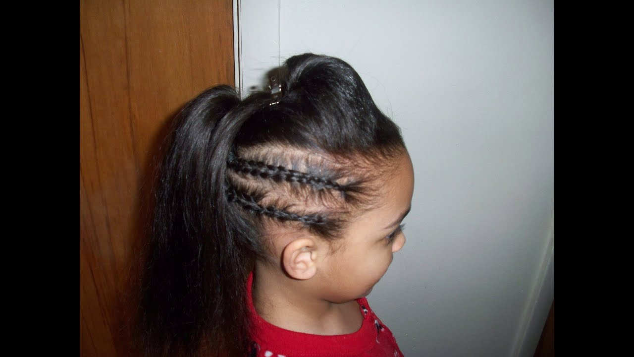 ponytails for kids - youtube