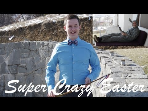 Super Crazy Easter in Slovakia!!