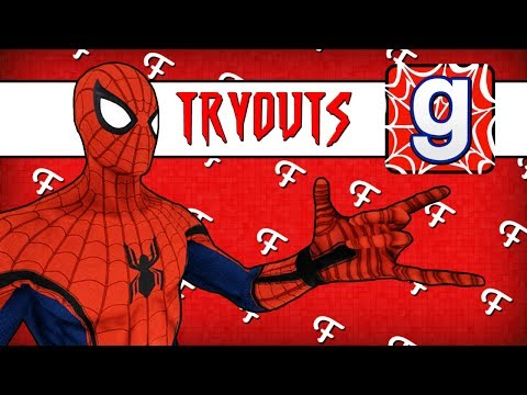 Gmod: Spider-Man Tryouts! (Garry's Mod Sandbox - Comedy Gaming)