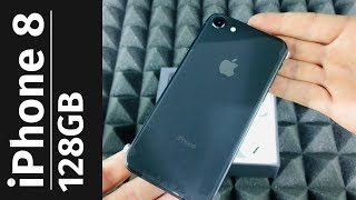 iPhone 8 128gb - Space Gray - 4.7 inch display Unboxing