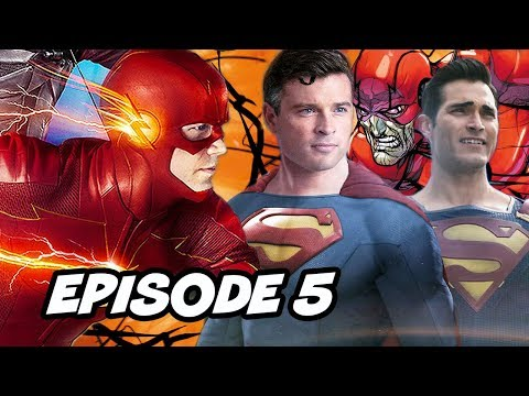 The Flash Season 6 Episode 5 - Crisis On Infinite Earths Trailer News and Easter Eggs
