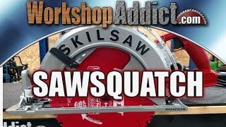 "SKILSAW Sawsquatch 10-1/4"" Worm Drive Circular Saw"