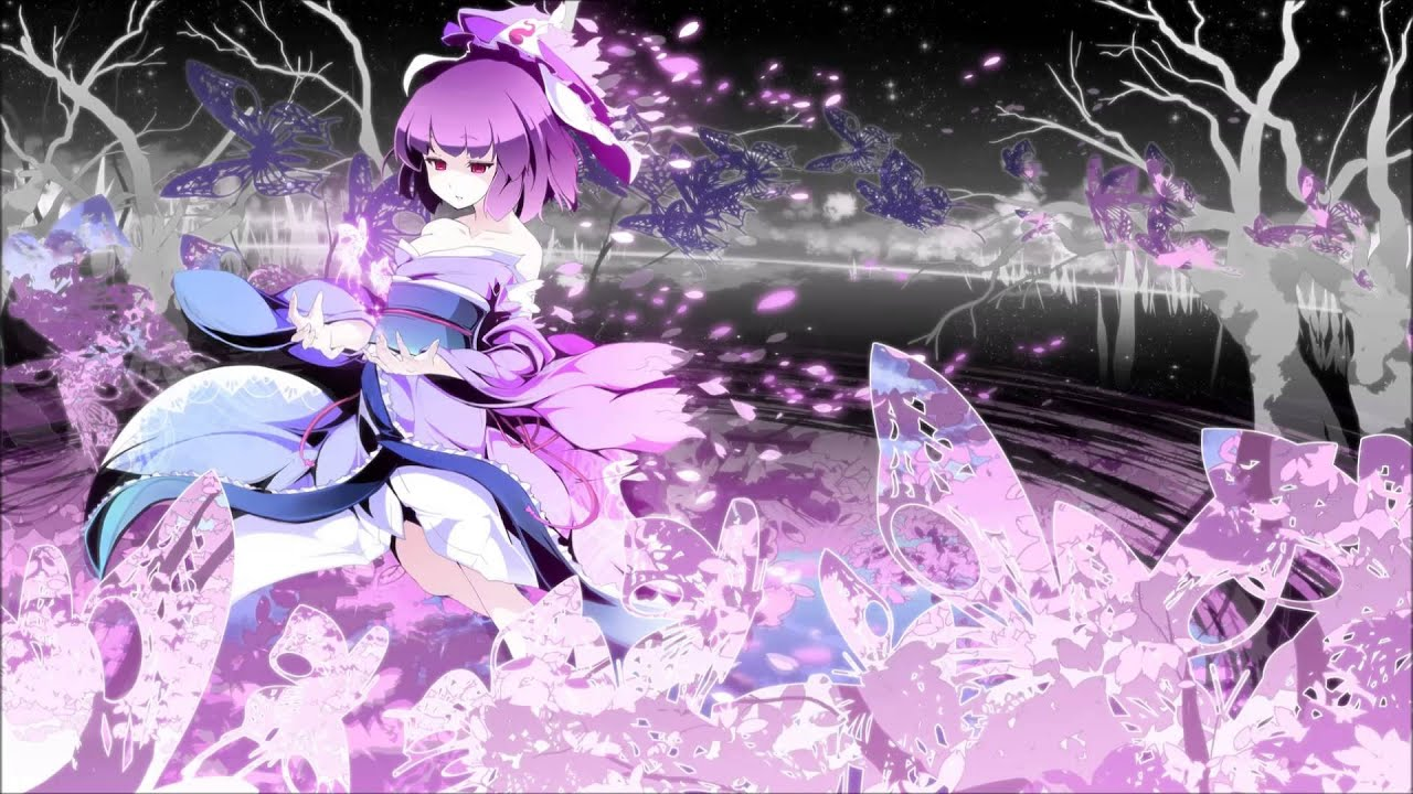 Falling Cherry Blossom Wallpaper Hd 東方 Vocal Digital Wing 恋ノ蟲 Youtube