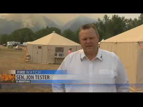 Sen. Tester advocates for wildfire fund to help offset USFS costs