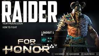 [For Honor] How I Customize My Raider
