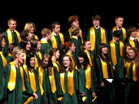 Cleveland High School A Choir At Harvest Festival 2009