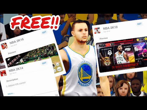 How To Download NBA 2K16 Mobile & Older 2K Games For FREE!!