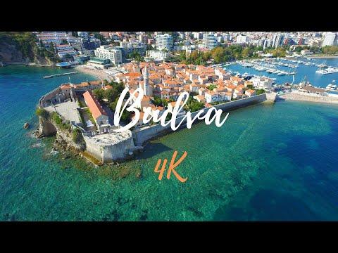 Budva drone footage [MONTENEGRO] in 4K - 2017