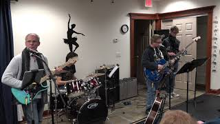 Ryan Performing Old Time Rock and Roll Main Street Music and Art Studio