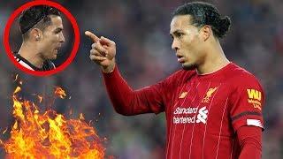 Endlich: Van Dijk reagiert auf Cristiano Ronaldo !