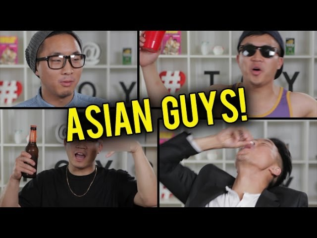 15 TYPES OF ASIAN GUYS