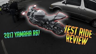 2017 yamaha r6 ride and review