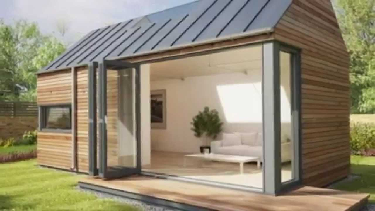 modern eco pod tiny housepod space - youtube