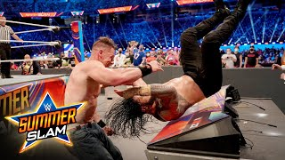 John Cena gives Roman Reigns a crushing Attitude Adjustment: SummerSlam 2021 (WWE Network Exclusive)