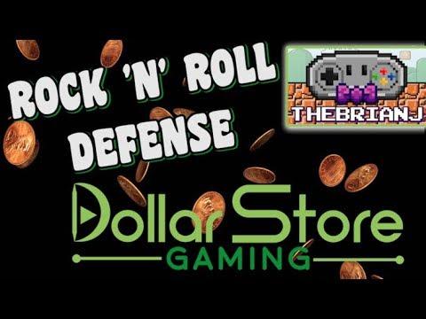 Rock 'n' Roll Defense - Dollar Store Gaming |