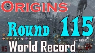 Origins Round 115 World Record - Solo by MatoMaster21 - Black Ops 2 Apocalypse DLC