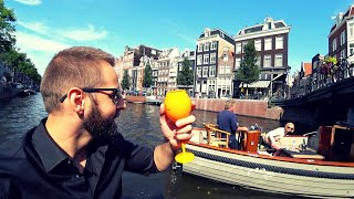 $200 Luxury Boat Tour Amsterdam 🇳🇱