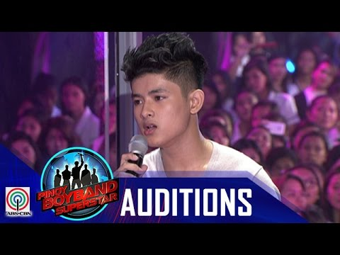 "Pinoy Boyband Superstar Judges' Auditions: Gabiel Umali– ""Torn"""