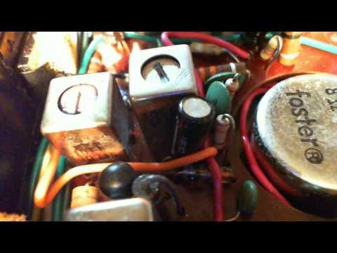 Zenith Royal 46 Transistor Radio Repair
