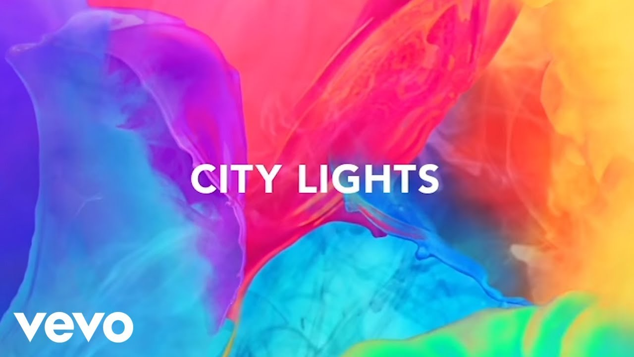 Avicii City Lights Lyric Video