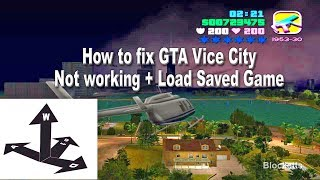 How to Fix steam gta Vice City not working +  Load Steam Game Save