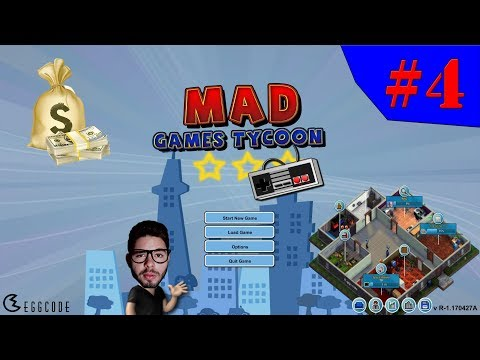 Mad Games Tycoon - O JOGO QUE SALVOU A EMPRESA!!! #4 (Gameplay / PC / PTBR) HD