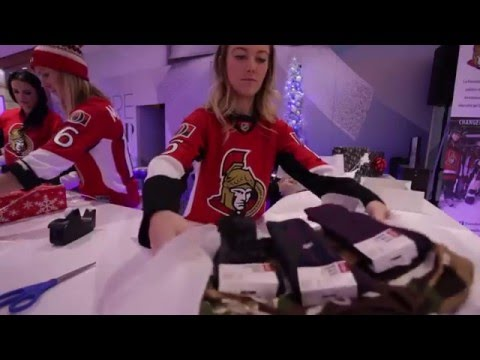 The Sens Wives & Girlfriends at Bayshore
