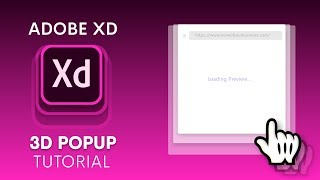 3D Popup Animation in Adobe XD   Auto Animate   Design Weekly