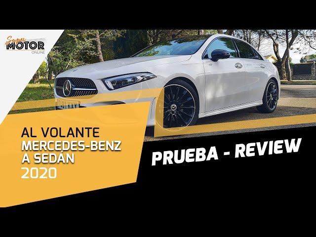 Al volante del Mercedes-Benz Clase A Sedan 2020 / Prueba / Opinión / SuperMotorOnline.com / T5 - E05