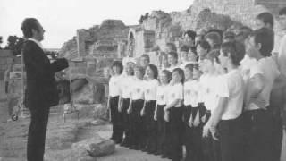 Hugo Distler - Vorspruch (Wer die Musik sich erkiest) - Tölzer Knabenchor (1986)