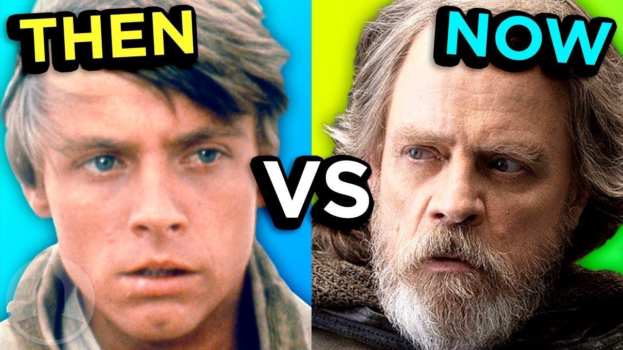 Star Wars - Then Vs Now -The Evolution Of Star Wars | Cinematica