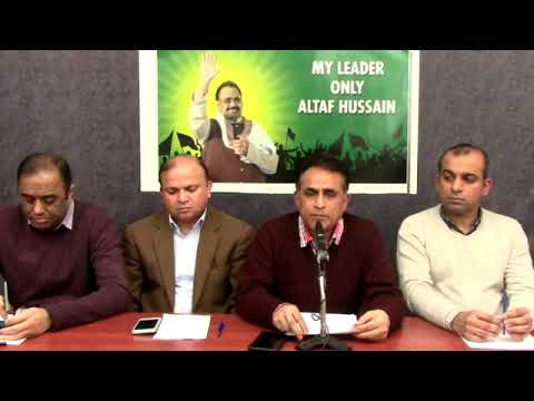 Live: Video Briefing of Co-ordination Committee of MQM from London-26 November 2017(Recorded)
