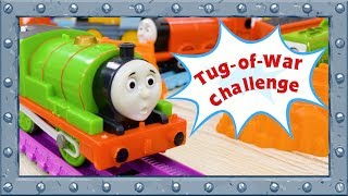 Real Power of Thomas and Friends! Tug-of-War Challenge #84