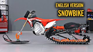 Snowbike Build Honda CRF450RX