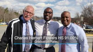 90 Percent Club: Record-high graduation rates in Prince George's County Public Schools