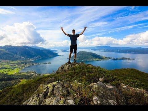 Epic Fjord Hike in Rosendal, NORWAY - EP. #53