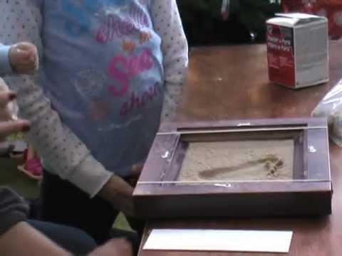 Super baby footprint kit - YouTube LI-21