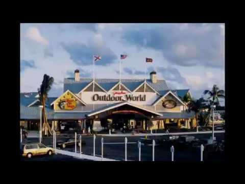 Bass Pro Shops Outdoor World. Dania Beach Florida Store Tour #Fishing #Hunting #Outdoors #TravelTips