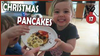MAKING CHRISTMAS PANCAKES FOR DINNER *Gluten Free Recipe*