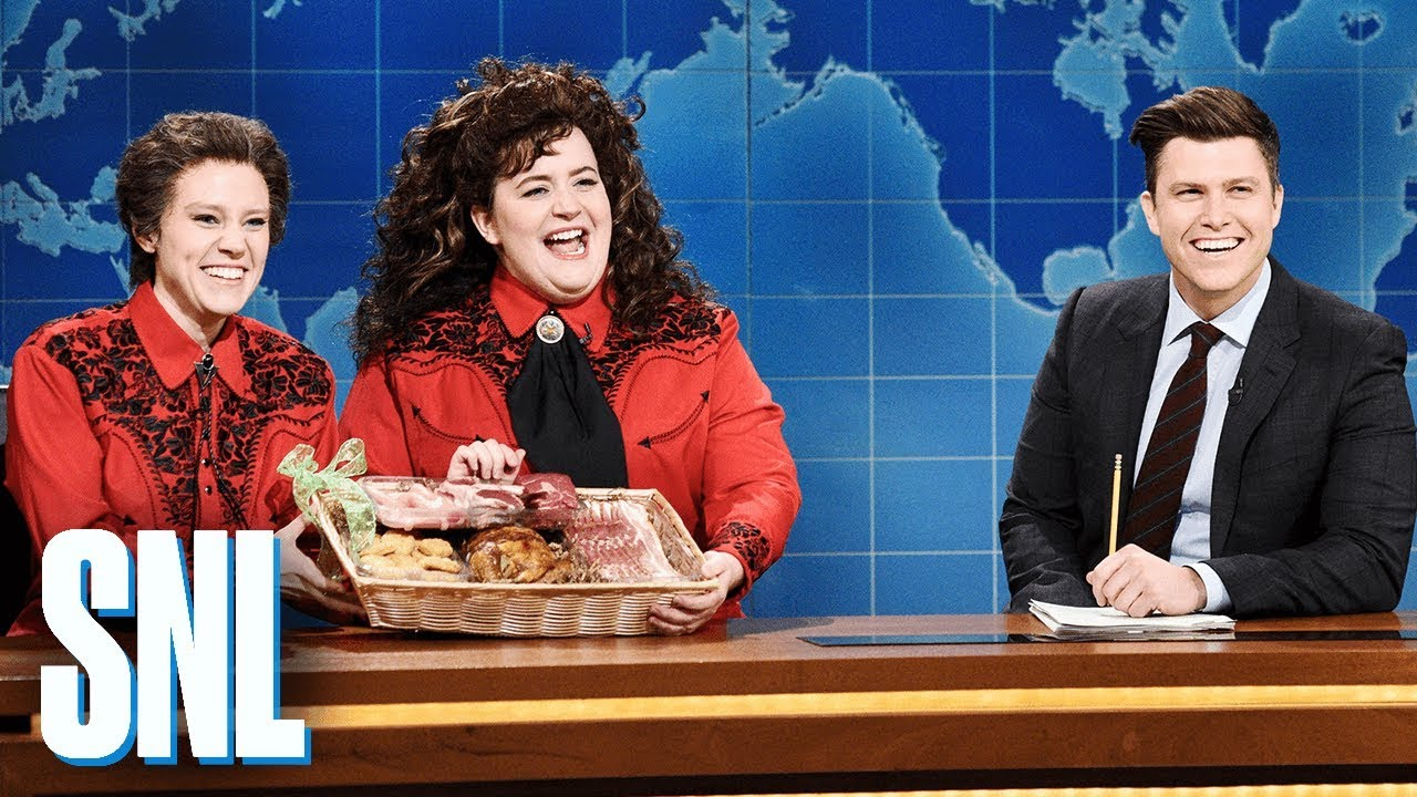 Kate McKinnon and Aidy Bryant Try SO Hard to Get Through This SNL Sketch ...